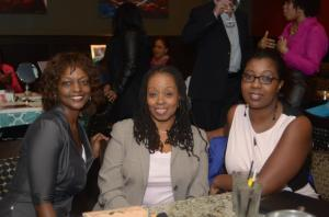 Valerie Lingo owner of Jamaica Comfort Zone with some of ther other attendees